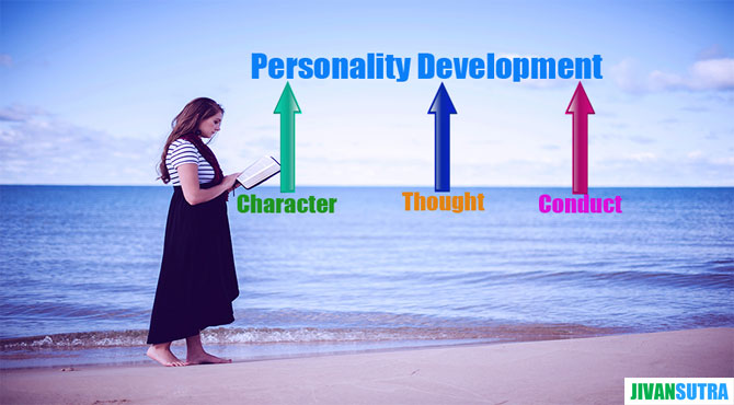 Meaning of Personality Development in Hindi