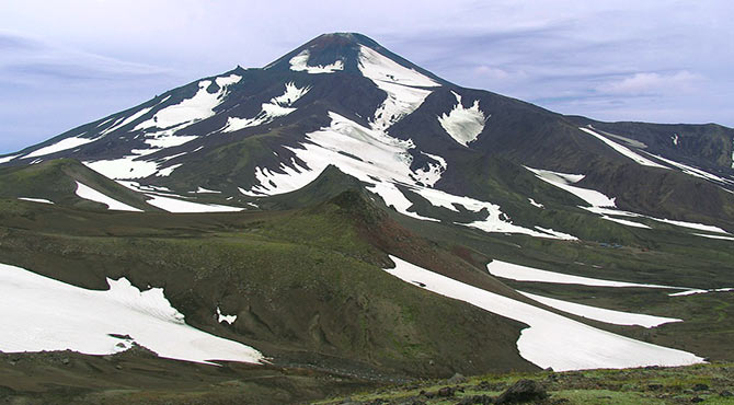 10 Highest Volcanoes in The World in Hindi
