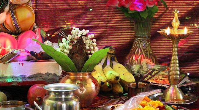 Akshaya Tritiya Poojan in Hindi